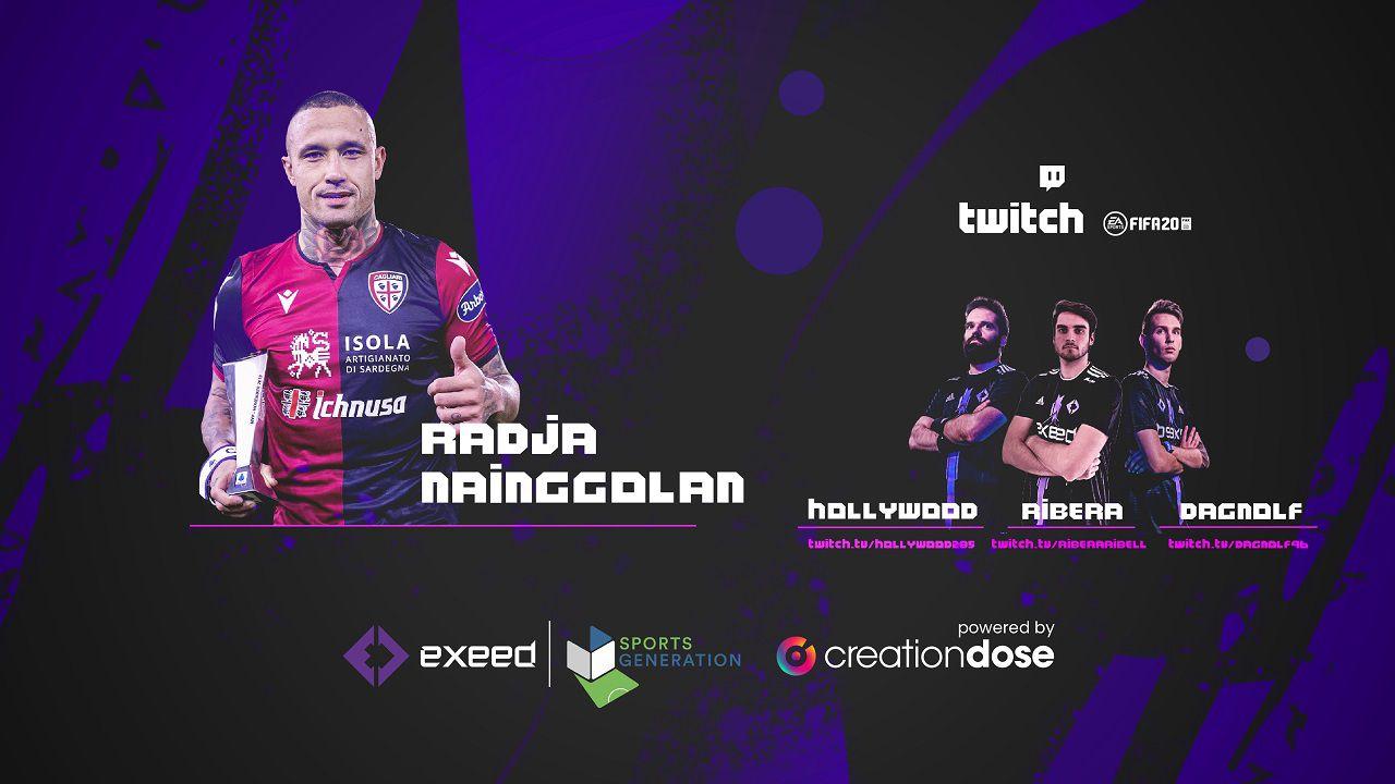 La sfida di Nainggolan su FIFA: grande successo all'evento del team Exeed con Creationdose