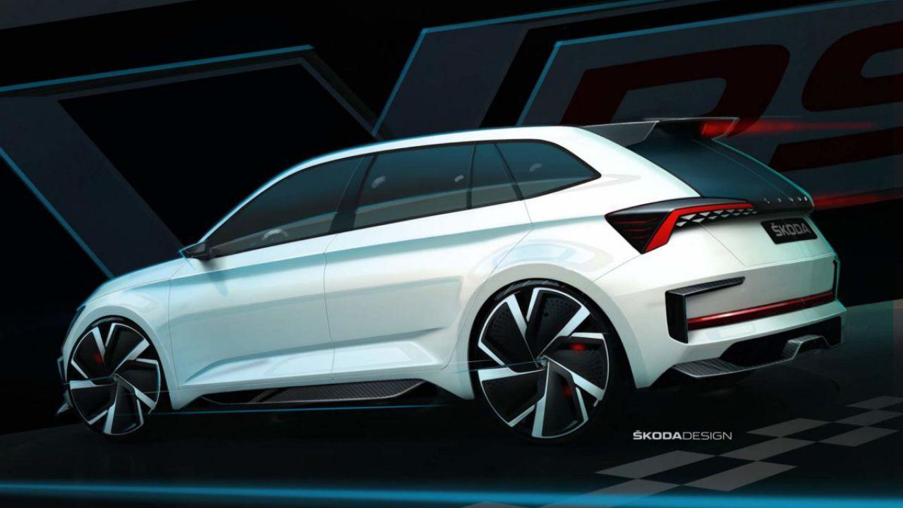 La Skoda Vision RS Concept diventa ibrida, con 70 km di autonomia full electric