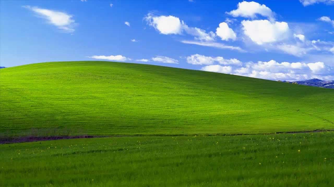 La storica collina verde di Windows XP Esiste ed ecco