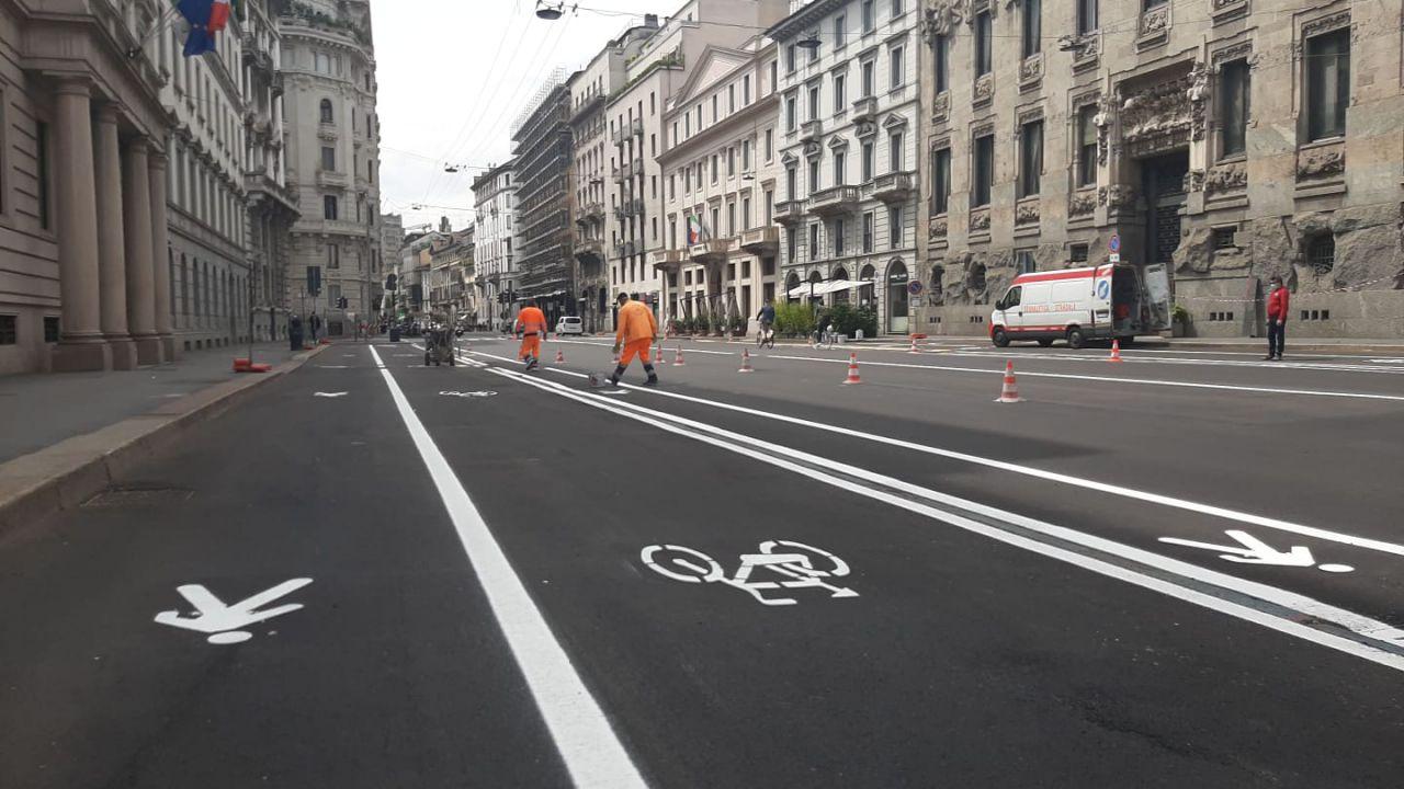 La strada urbana ciclabile scompare dal Decreto Rilancio, la denuncia di ANCMA