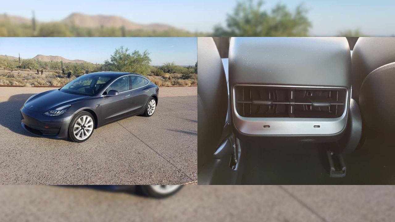 La Tesla Model 3 si aggiorna: arrivano USB C e carica wireless