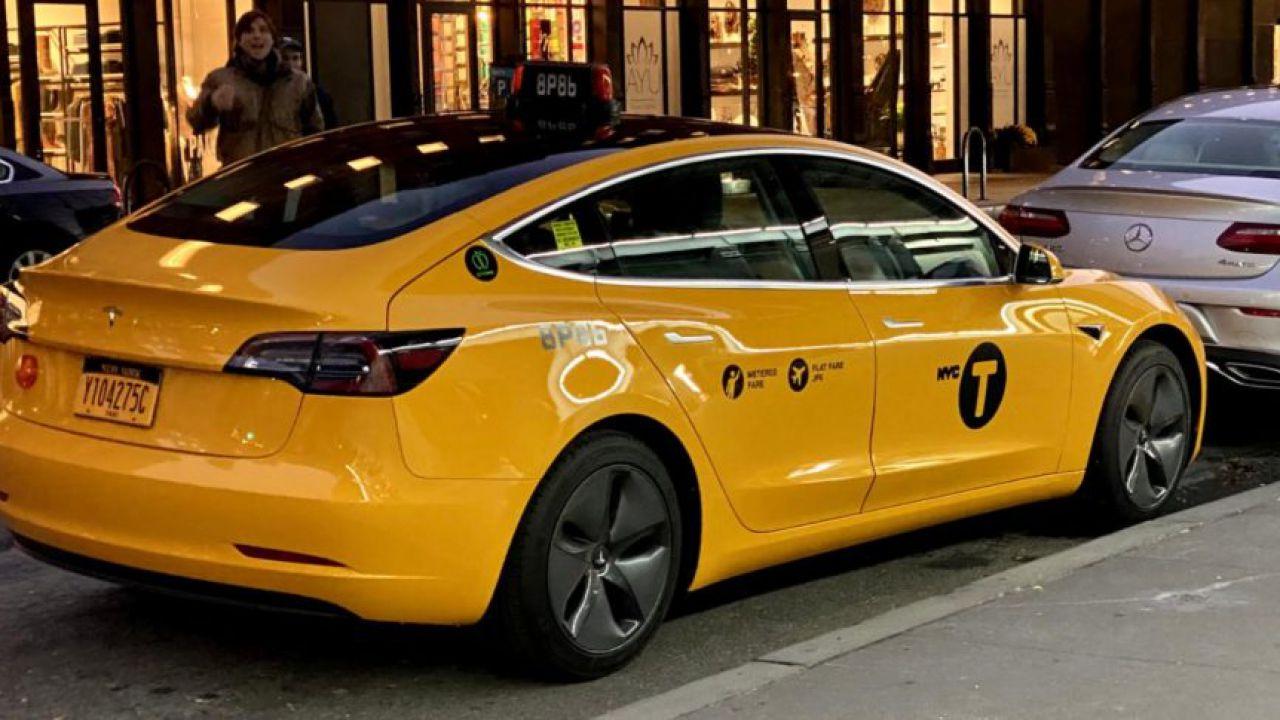 La Tesla Model 3 debutta come taxi a New York City e fa un figurone