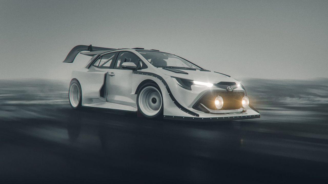 La Toyota GR Corolla sarà davvero così? Ecco i fantastici render