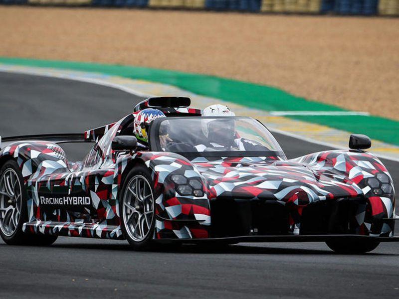 La Toyota GR Super Sport sfreccia per la prima volta a Le Mans