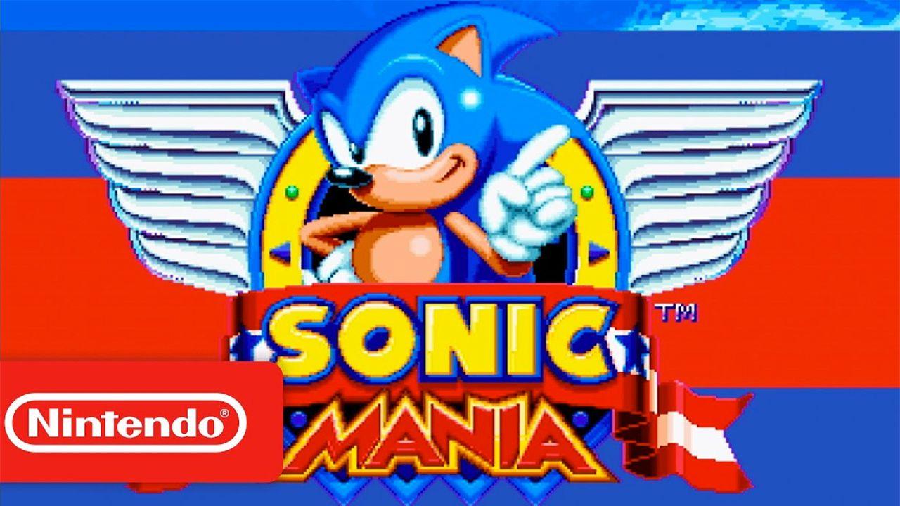 La versione Switch di Sonic Mania uscirà insieme a quelle per PC, Xbox One e PS4