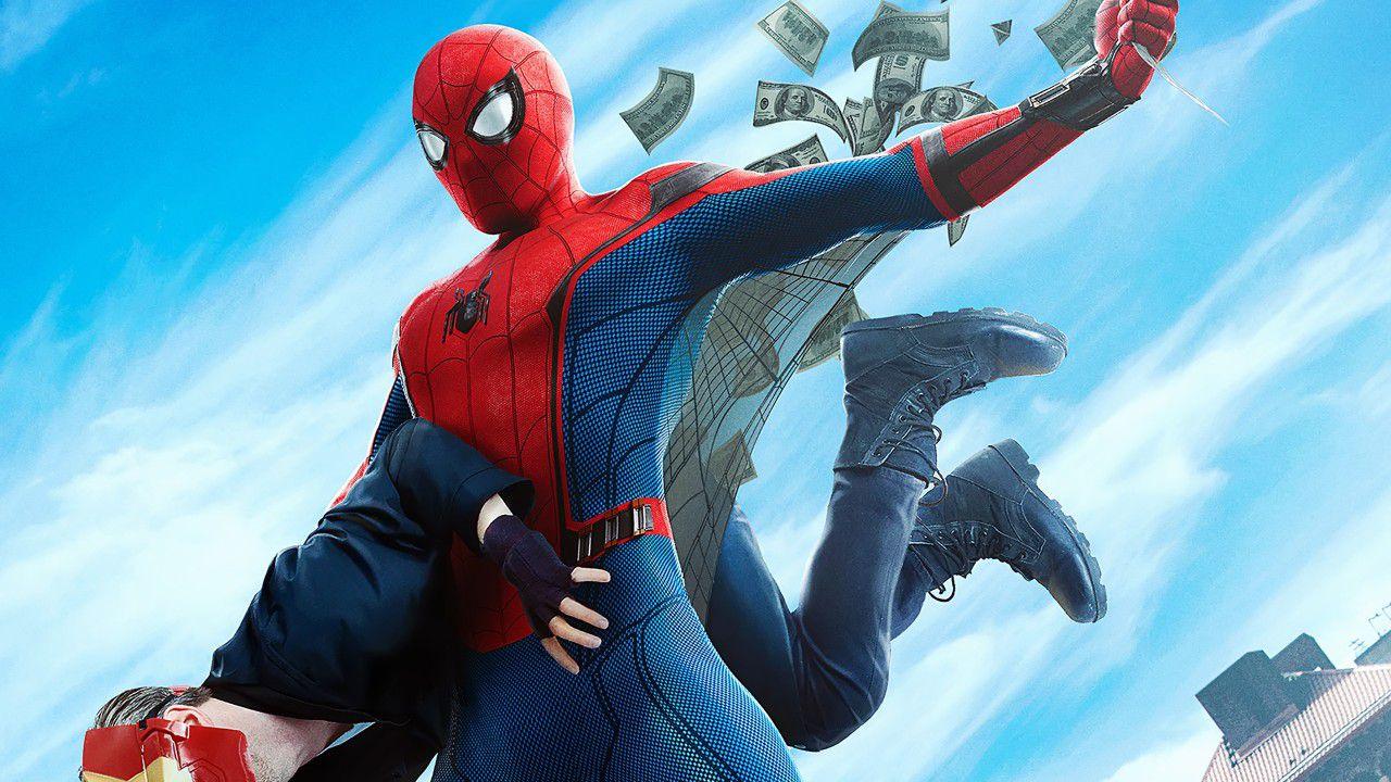 La versione trial di Disney+ non include Spider-Man: Homecoming