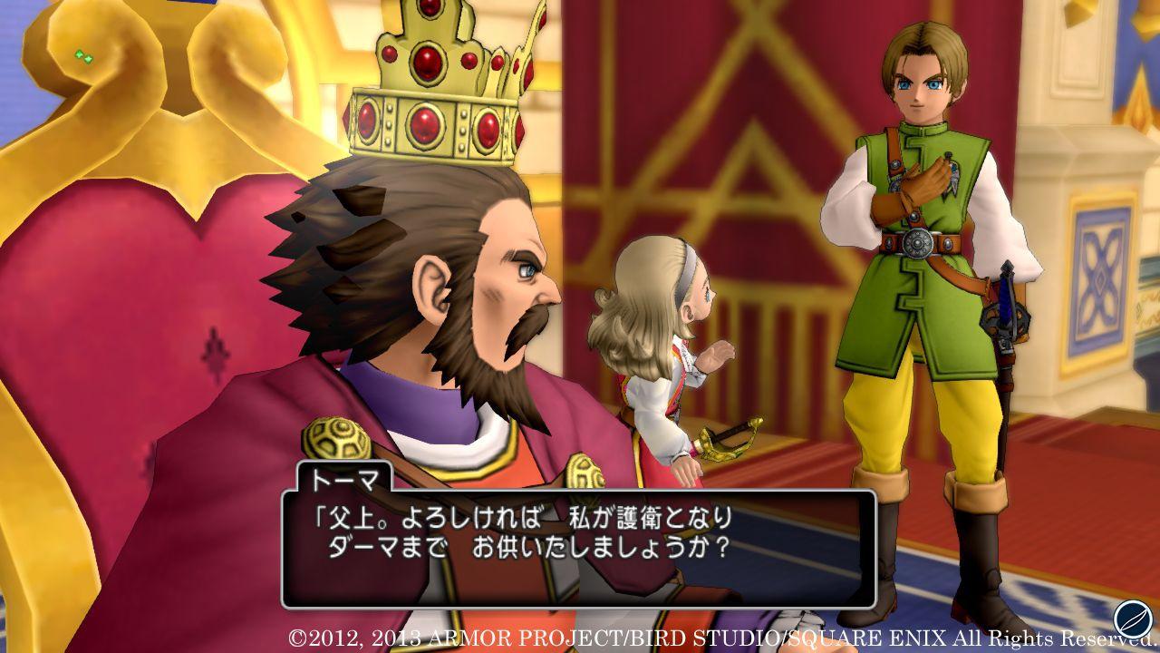 La versione Wii U di Dragon Quest X arriverà in Giappone durante la primavera 2013