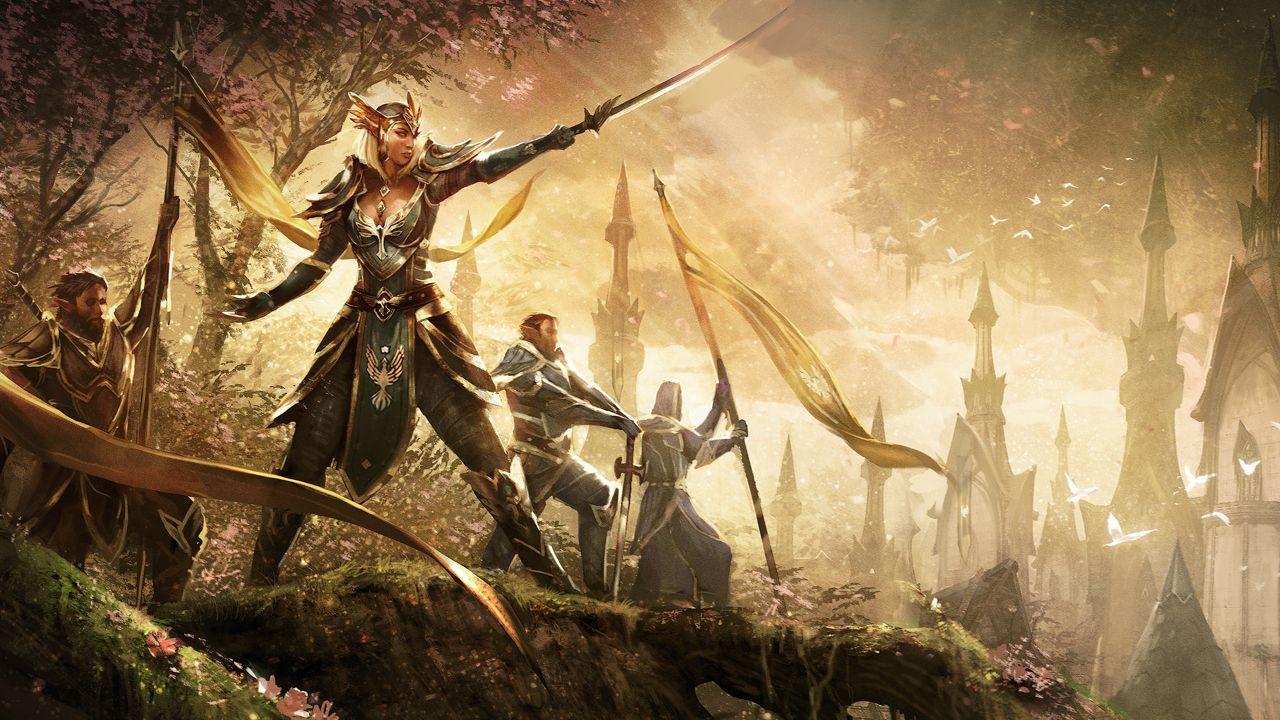 La versione Xbox One di The Elder Scrolls Online in azione