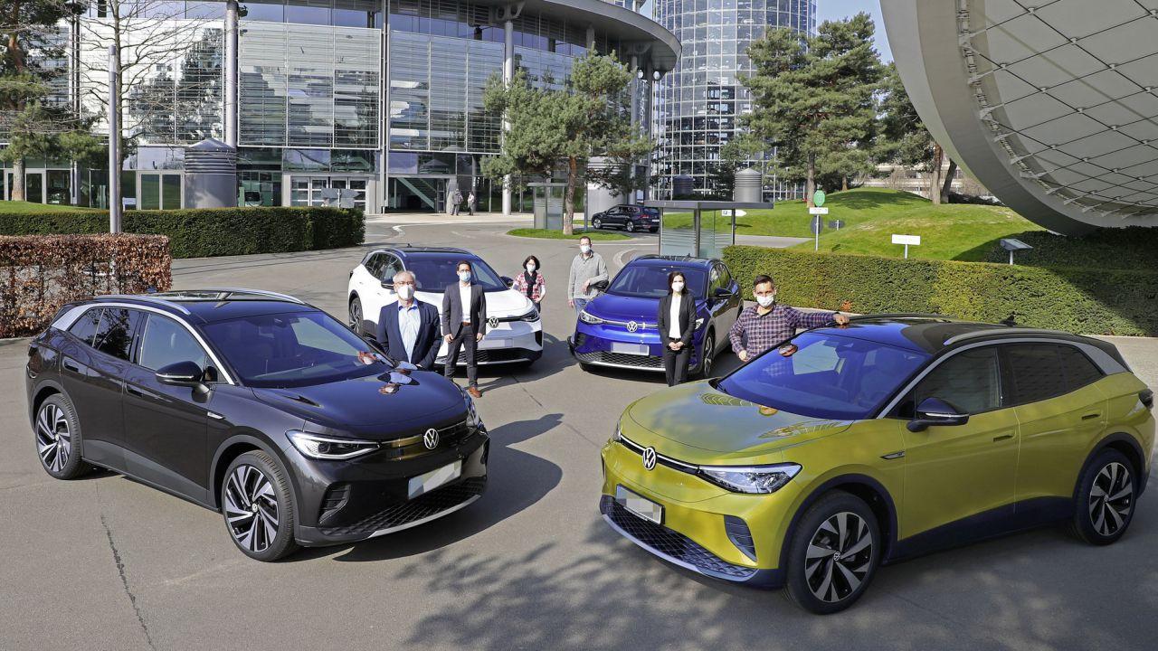 La VW ID.4 è arrivata: i primi esemplari sono già stati consegnati ai clienti