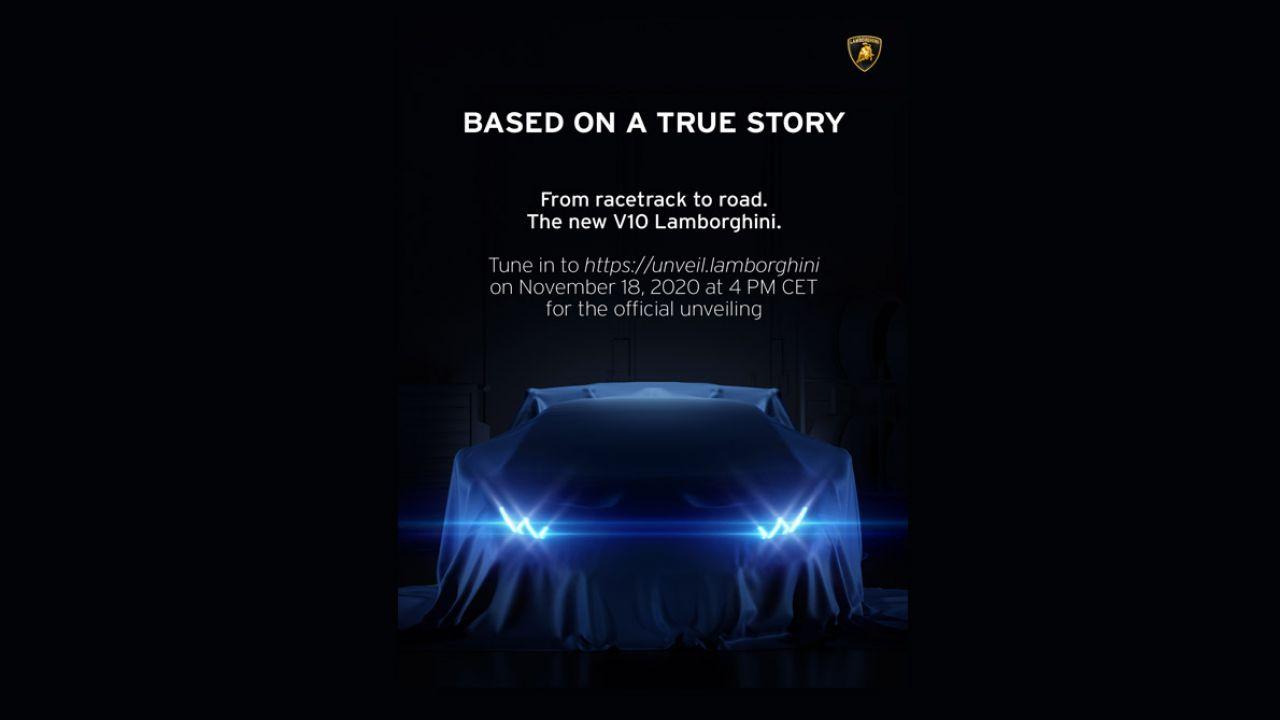 Lamborghini anticipa un nuovo modello da mostrare tra pochi giorni