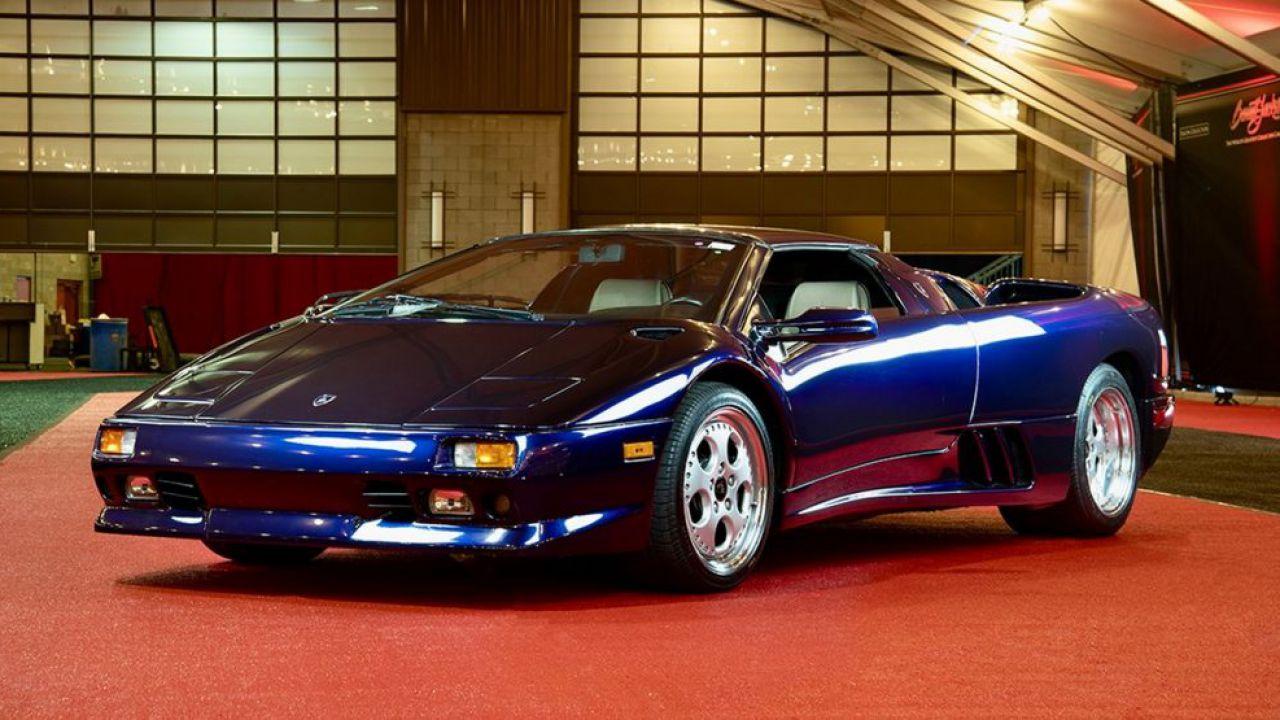 Lamborghini Diablo VT Roadster: in vendita un magnifico esemplare della storica supercar