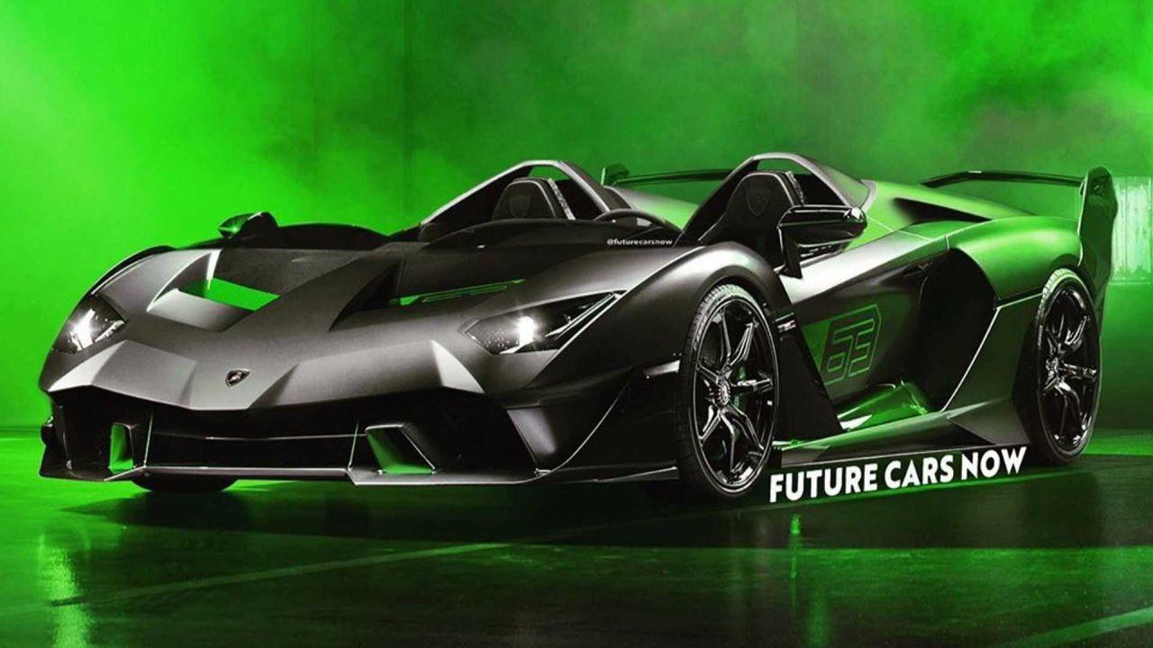 Lamborghini Essenza SCV12 Speedster: il primo render del bolide