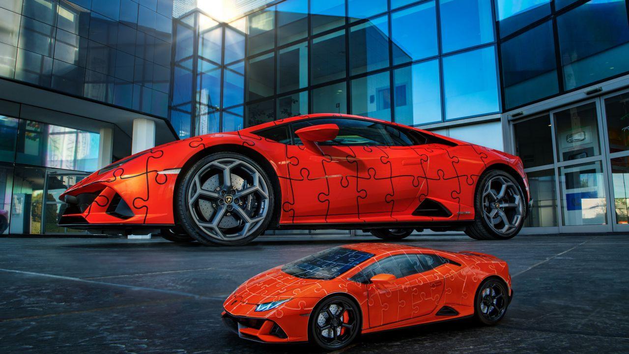 Lamborghini Huracan per 35€? Sì, ma è solo un puzzle 3D