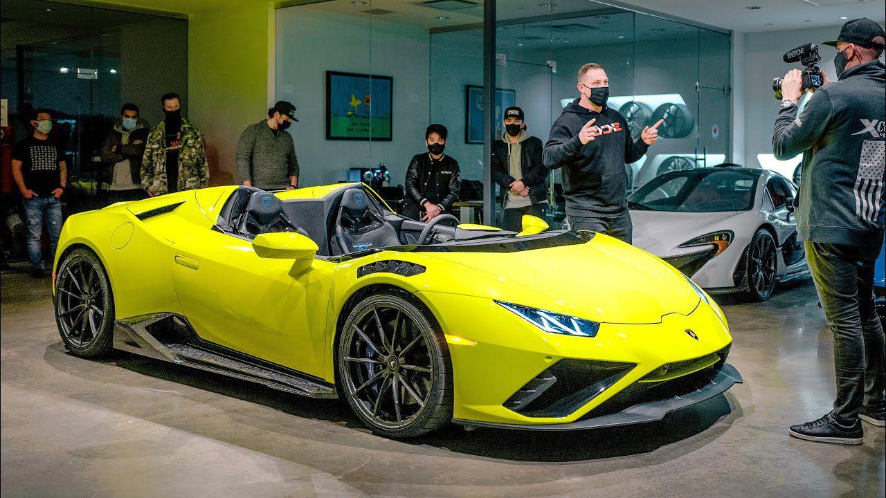Lamborghini Huracán Aperta: la V10 custom più estrema di sempre
