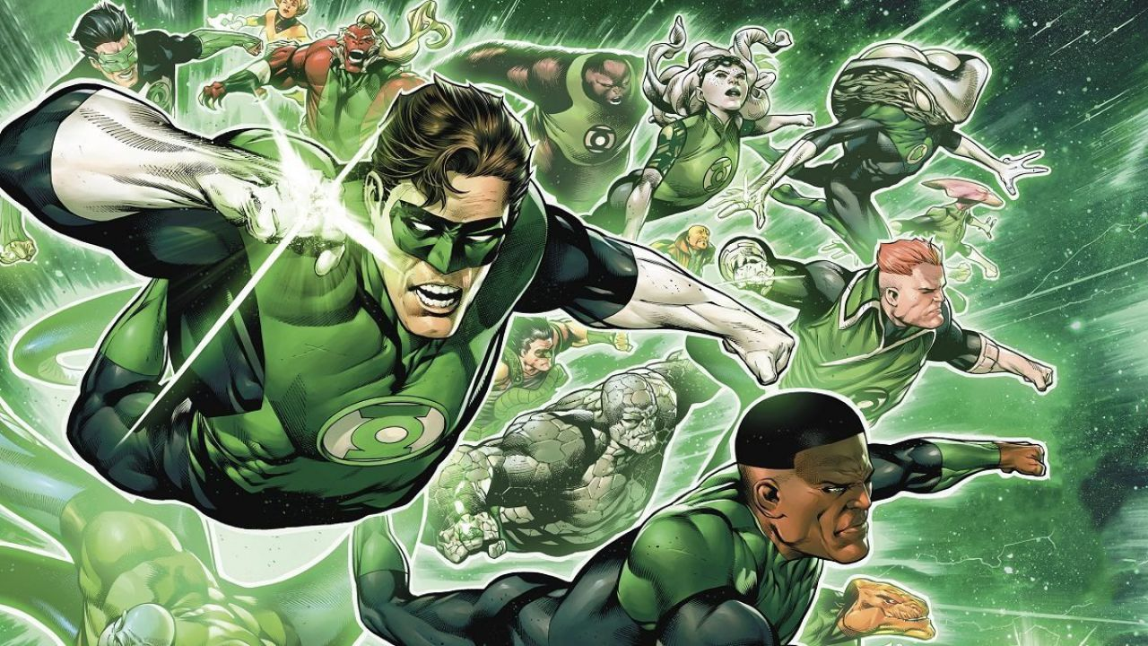 Lanterna Verde: John Stewart e gli altri tornano su OA in Green Lantern #1