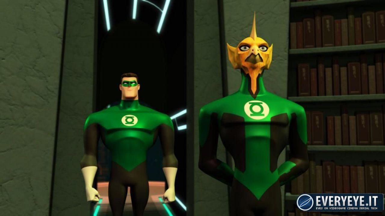 Lanterna verde promo dalla serie animata
