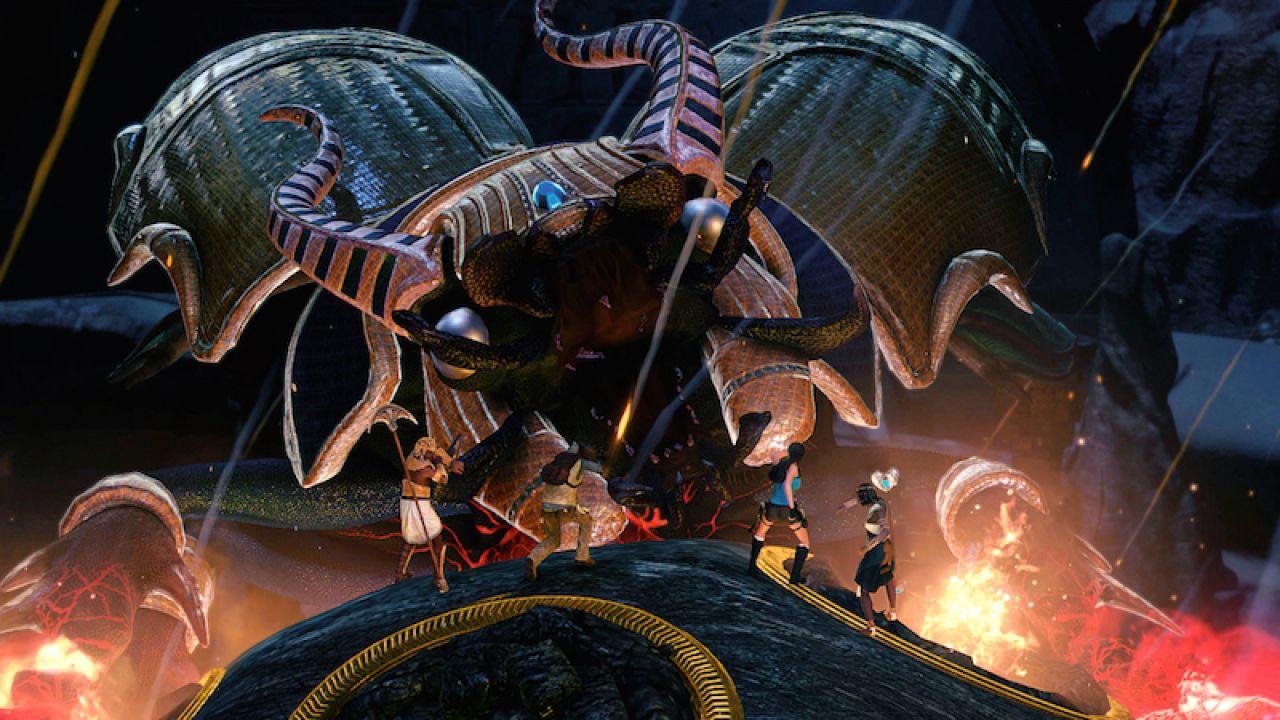 Lara Croft and the Temple of Osiris, nuovi scatti dal Comic-Con di New York