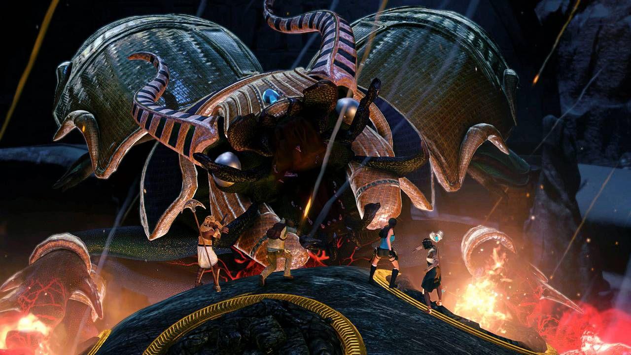 Lara Croft and the Temple of Osiris scontato sull'Humble Store
