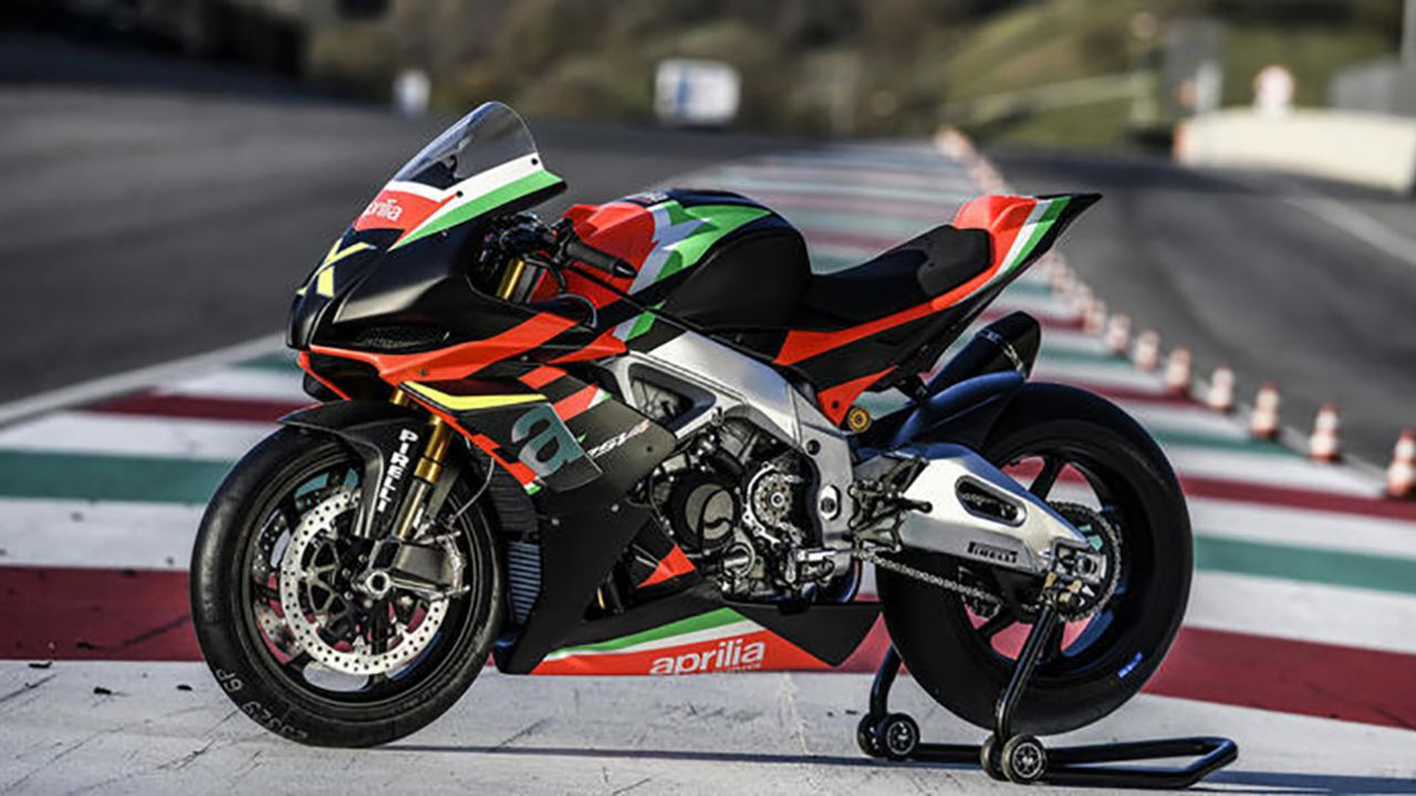 Le 10 Aprilia RSV4 x celebrative sold out in poche ore