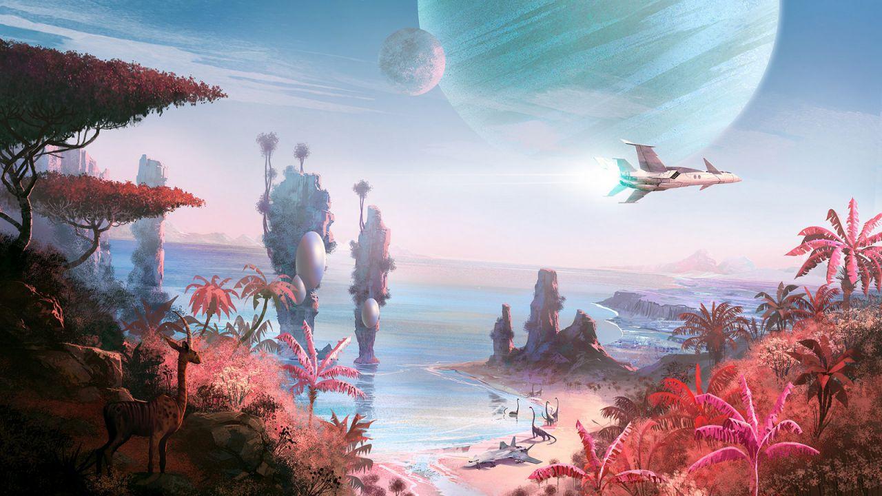 Le affascinanti ambientazioni di No Man's Sky in nuovi scatti