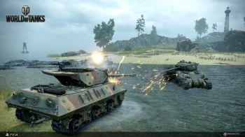 Le armate britanniche invadono World of Tanks su PS4