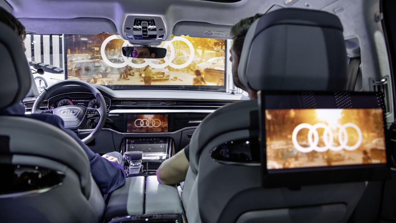Le Audi si trasformano in un cinema immersivo al CES 2019
