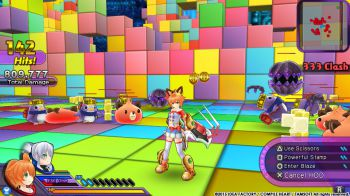 Le battaglie di Hyperdimension Neptunia U in nuovi screenshot