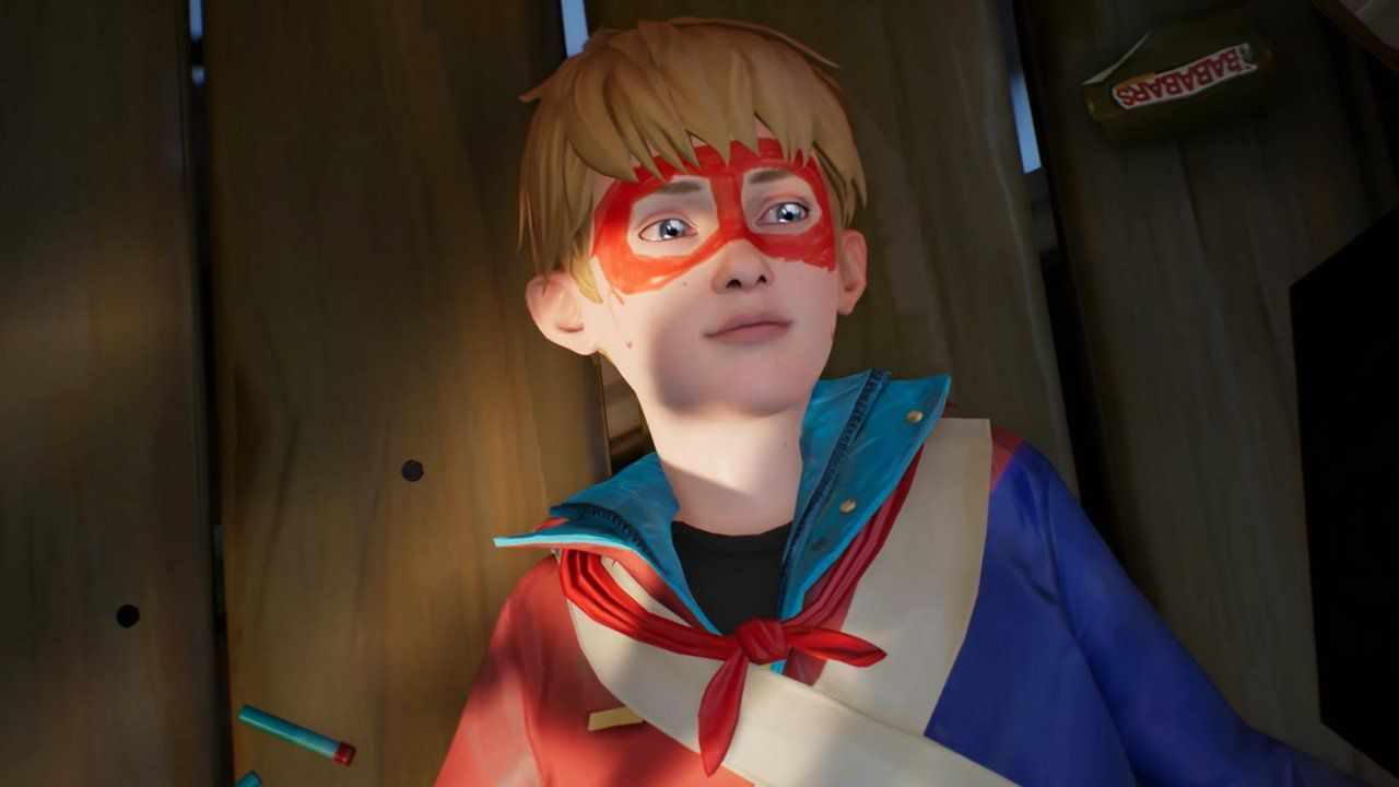Le Fantastiche Avventure di Captain Spirit: come creare il costume da supereroe di Chris