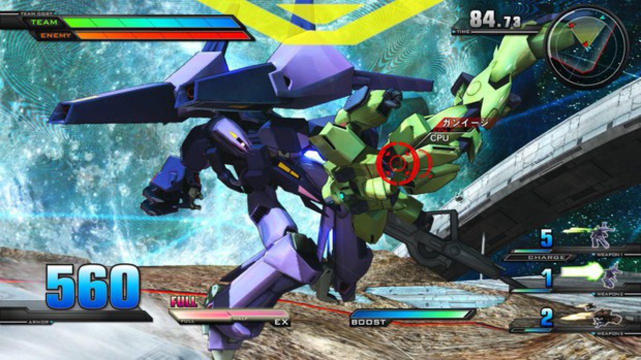 Le immagini di Gundam Extreme VS su PlayStation 3