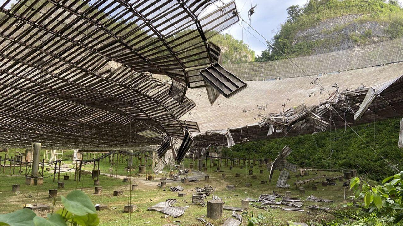 Le indagini sul grave incidente dell'osservatorio di Arecibo continuano