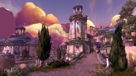 Le migliorie grafiche di World of Warcraft Legion si mostrano in immagini
