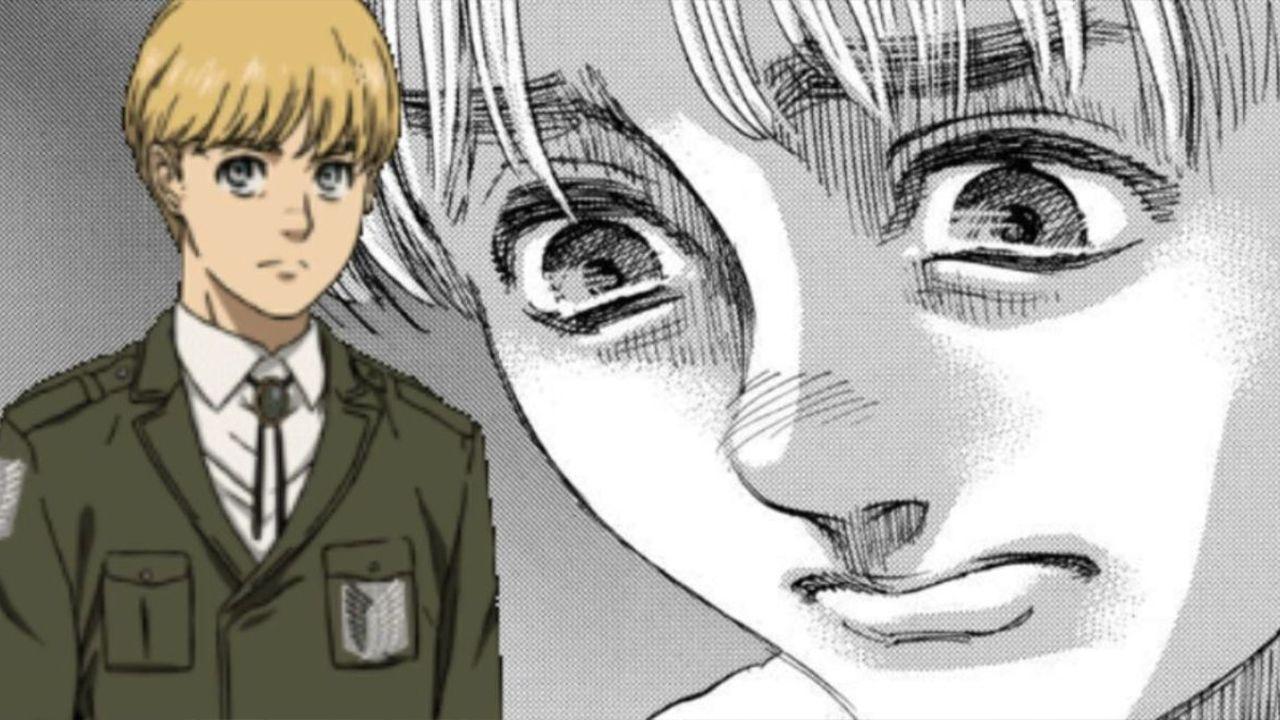 Le parole di Armin in L'Attacco dei Giganti 137: ecco come ha salvato la situazione