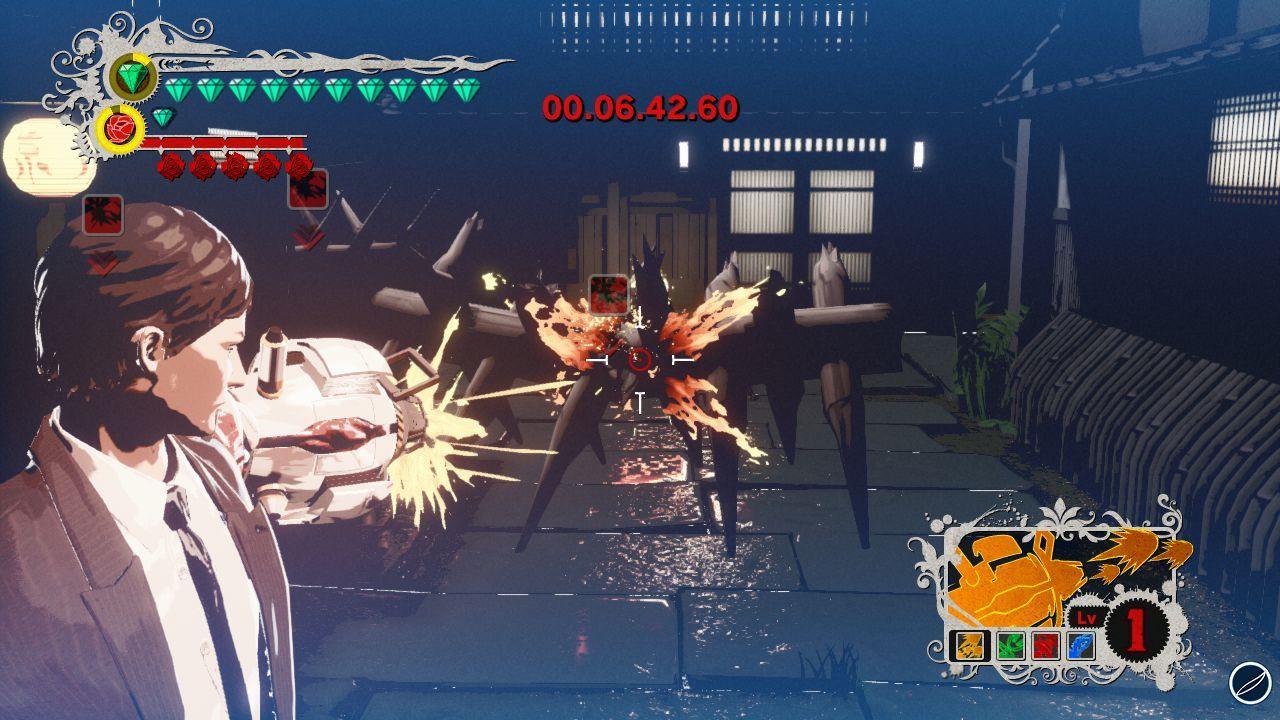 Le prime immagini gameplay di Killer is Dead