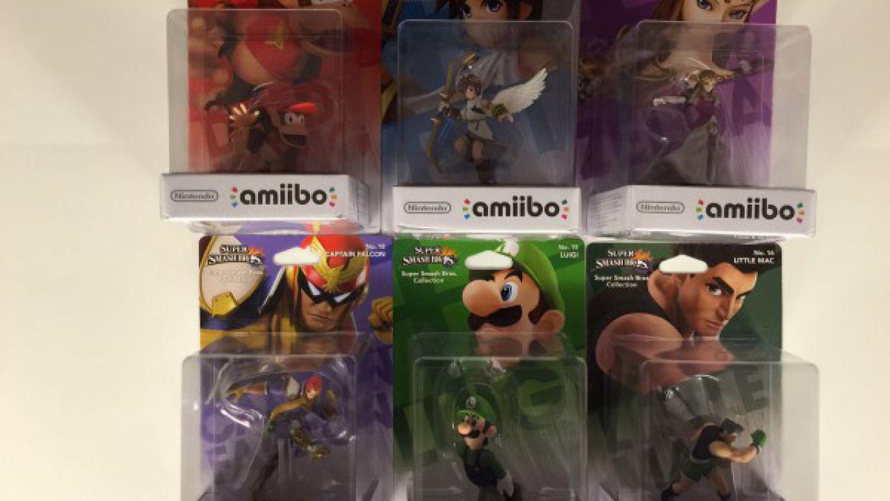 Le scorte di Amiibo scarseggiano: Nintendo si scusa e prepara nuove ondate