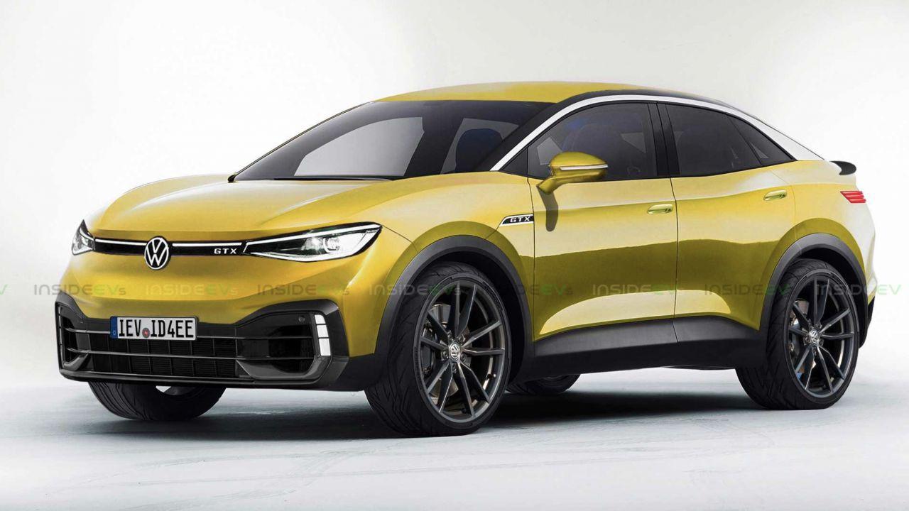 Le Volkswagen ID saranno anche sportive con badge GTX