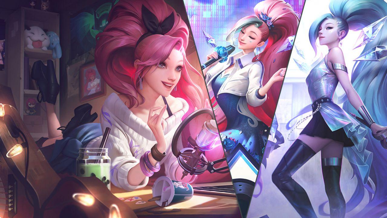 League of Legends: Seraphine vi augura buon Natale nel cosplay di Shirogane