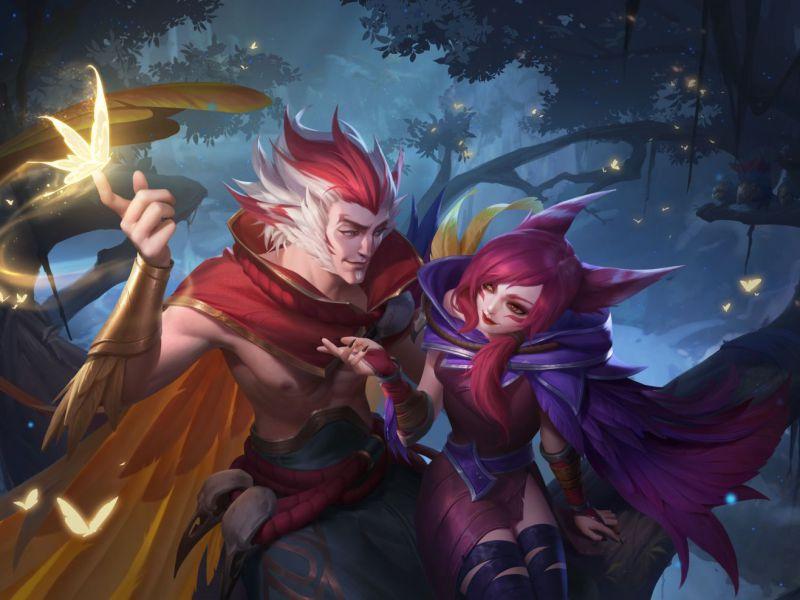 League of Legends Wild Rift: Lunar Suitors Valentine's Day event kicks off