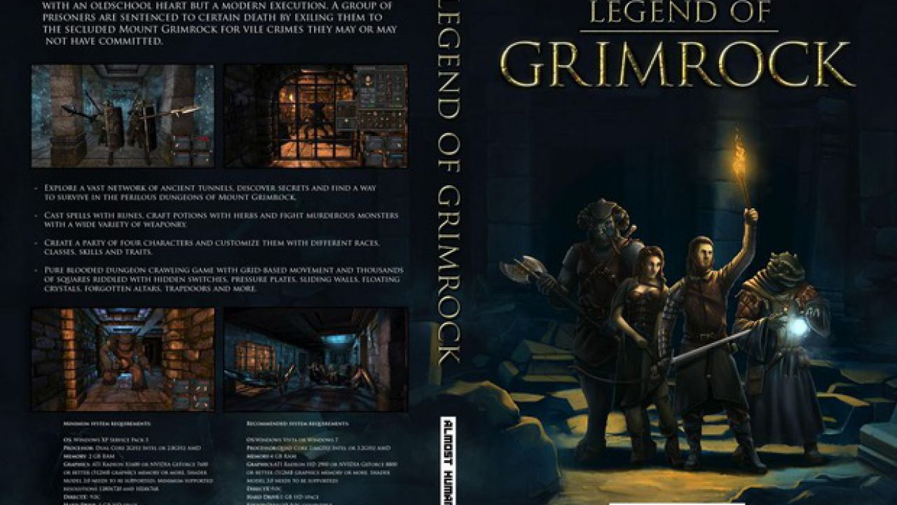 Legend of Grimrock: domani sarà pubblicato l'editor livelli