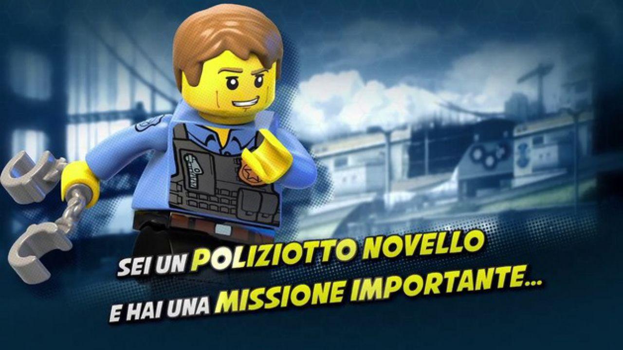 Lego City Undercover: The Chase Begins - il comunicato stampa