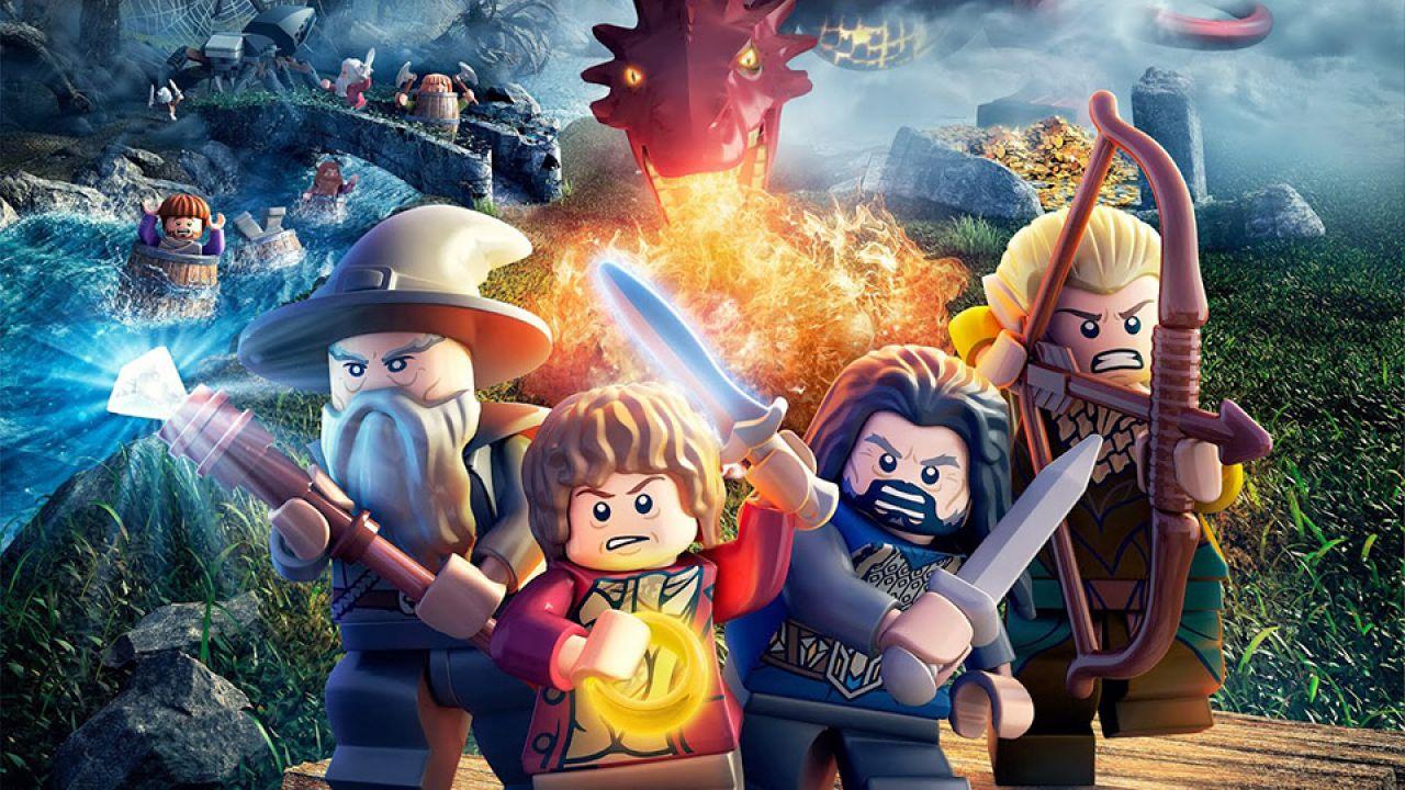LEGO Lo Hobbit: video gameplay del livello Stone Giants