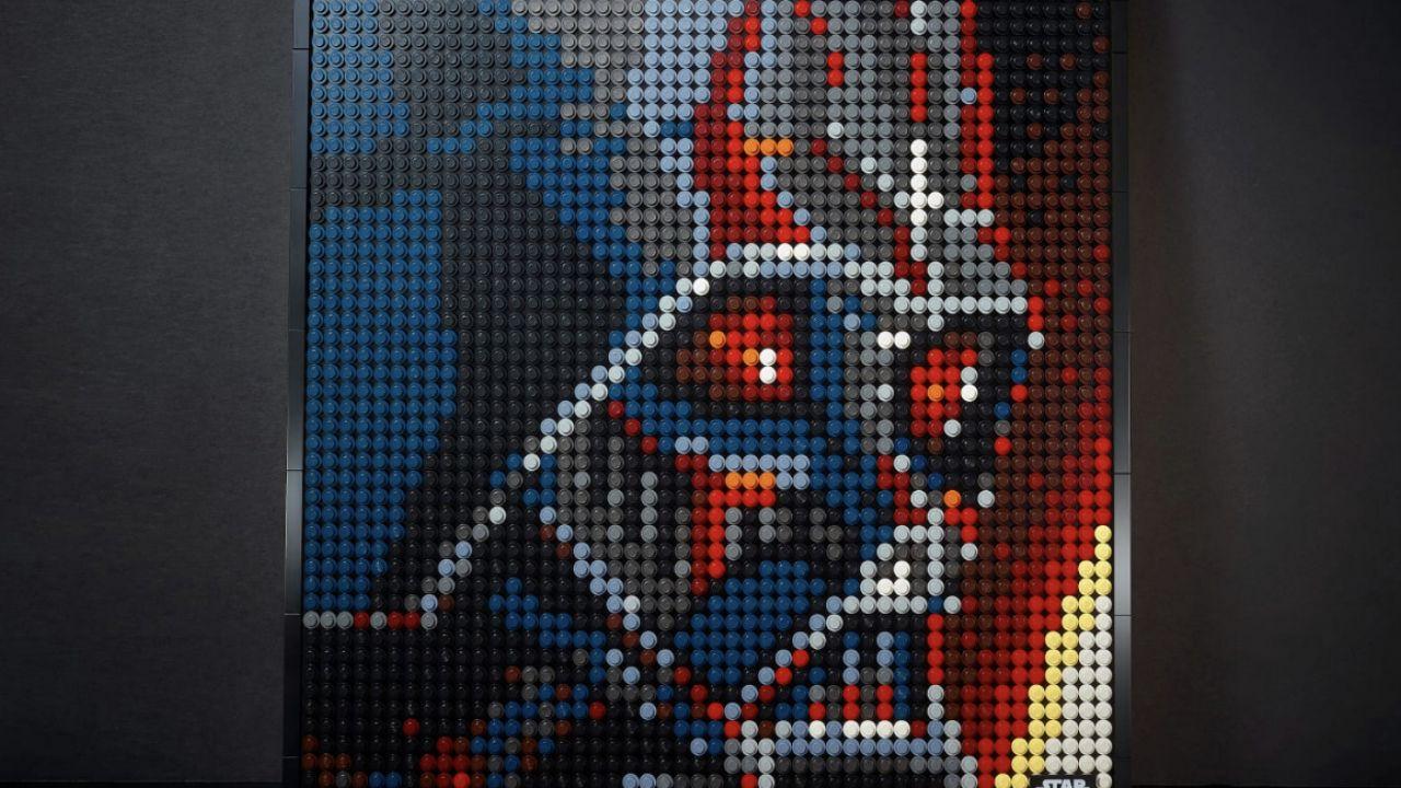 Lego lancia i mosaici LegoArt con Iron Man, Darth Vader ed i Beatles