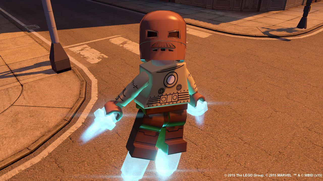 LEGO Marvel Avengers presenta alcuni dei 100 personaggi inclusi nel gioco