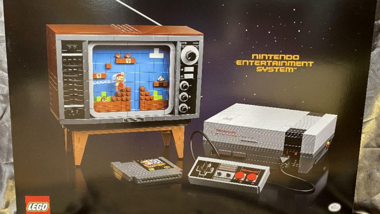 LEGO Nintendo NES: il nuovo set che farà impazzire i nostalgici degli anni '80