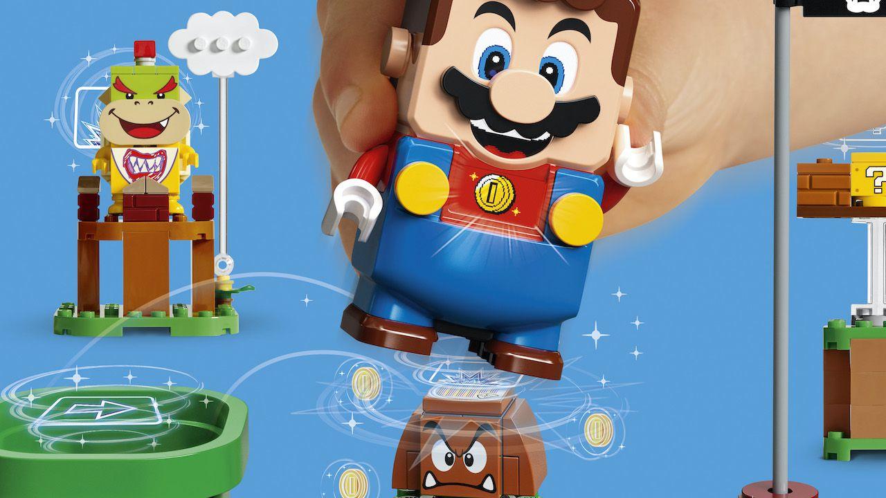 LEGO Super Mario: prenota lo Starter Pack da GameStop, in regalo il blocco  Super Fungo!