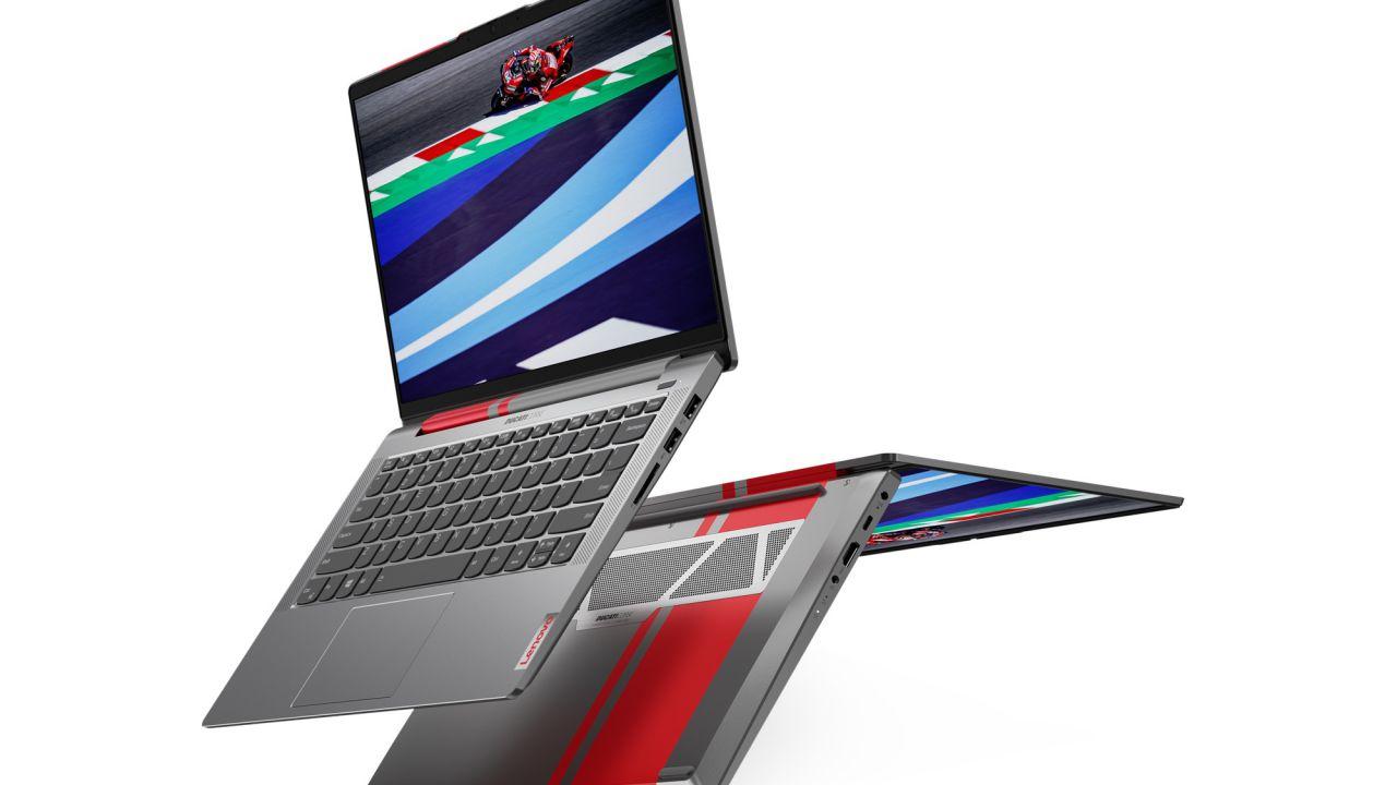 Lenovo porta in Italia il notebook ispirato al design Ducati: si parte da 999 Euro