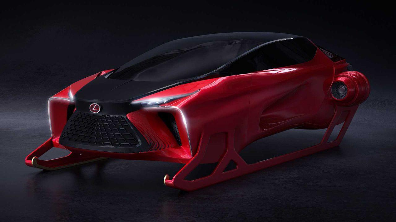 Lexus HX Sleigh: la slitta di Babbo Natale by Lexus