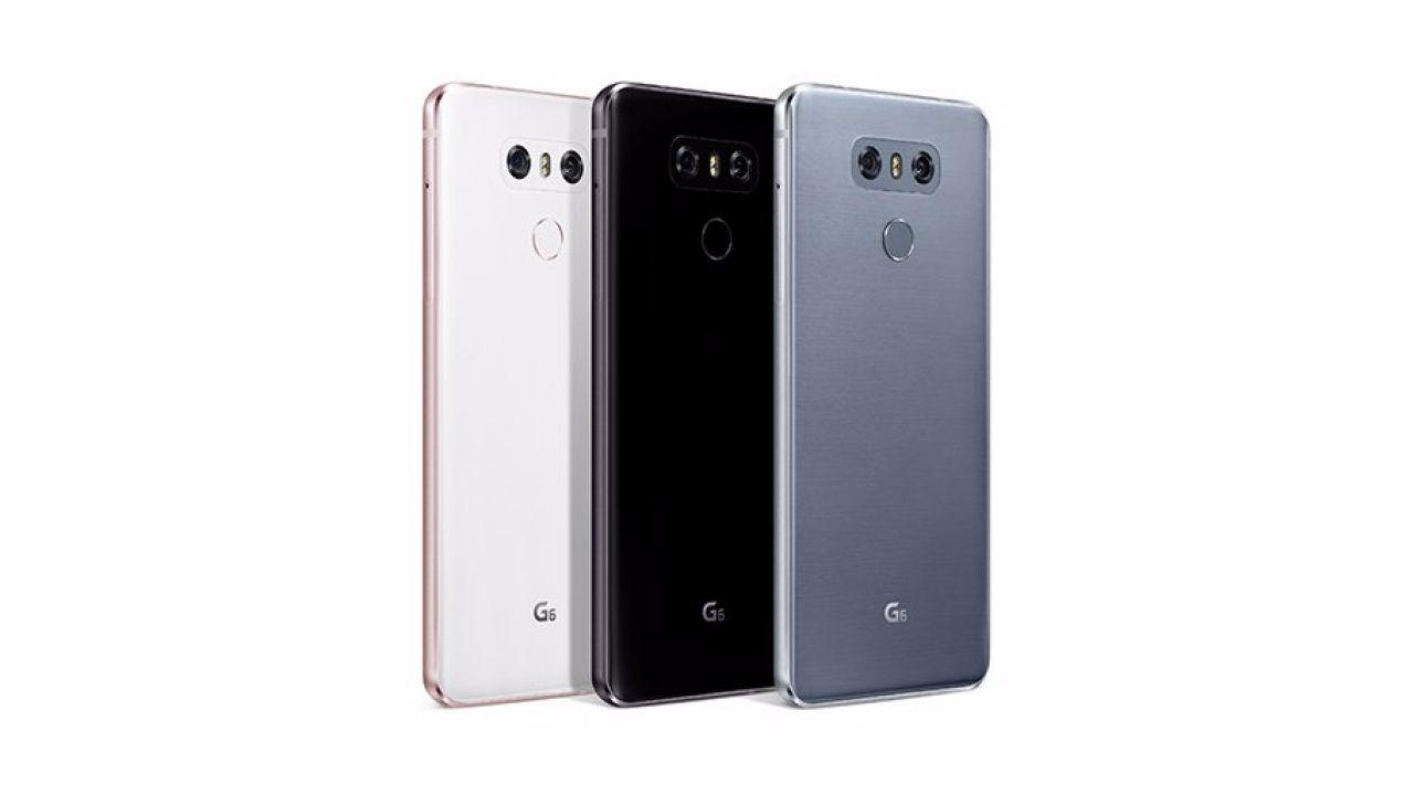 LG G6: al via la distribuzione mondiale