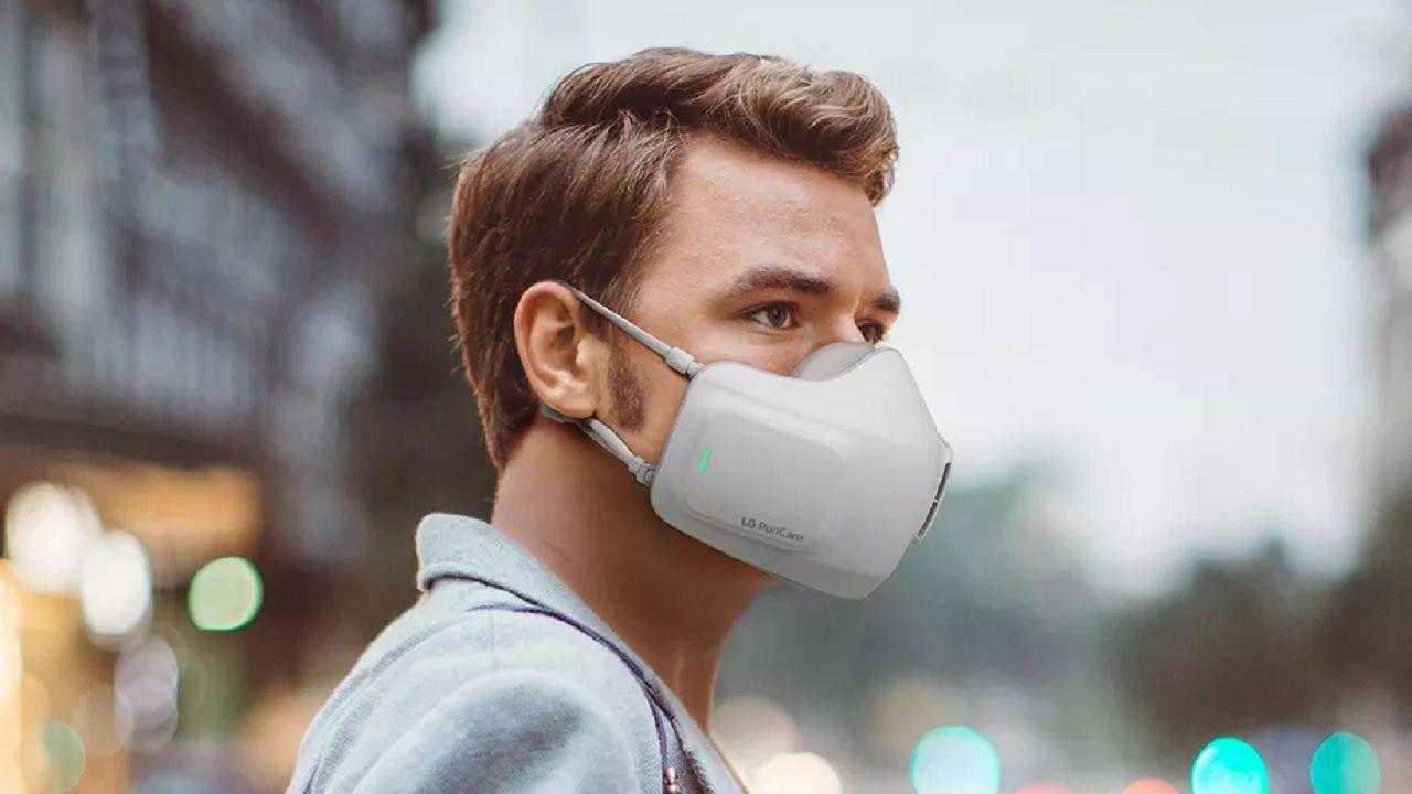 LG, ufficiale la mascherina PuriCare alimentata a batterie