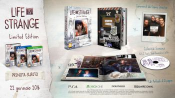 Life is Strange: video unboxing della Limited Edition per PS4