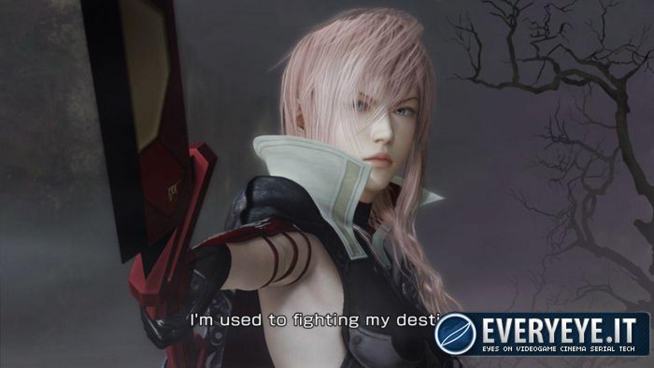 Lightning: Returns Final Fantasy XIII - integrazione con i social network